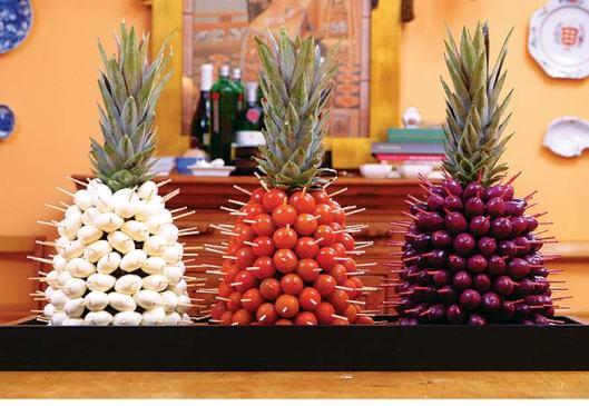 abacaxi espetado