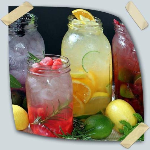 água-saborizada