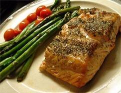 salmão-assado